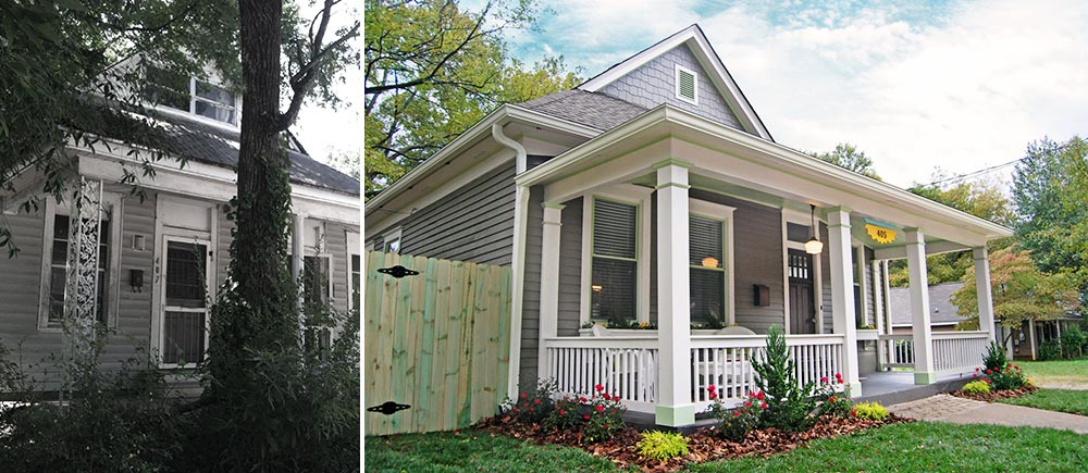 Inspirational Atlanta Front Porch Before & After Awesome - Contemporary bathroom remodeling atlanta ga In 2019